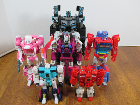 Toy Reviews - Transformers: Titans Returns Store Exclusives