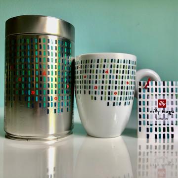 London - illy City Mug & Coffee Can