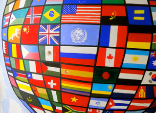 The Globe of The National Flags