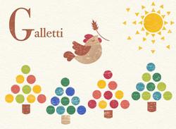 Galletti (Woodcut, Photoshop)