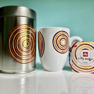Rome - illy City Mug & Coffee Can
