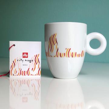 Baku - illy City Mug