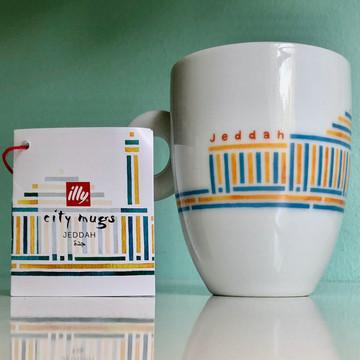 Jeddah - illy City Mug