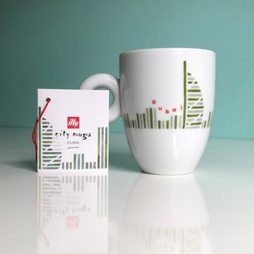 Dubai - illy City Mug