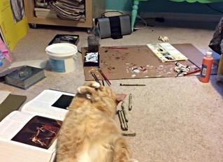 Arty Cat Cinnamon