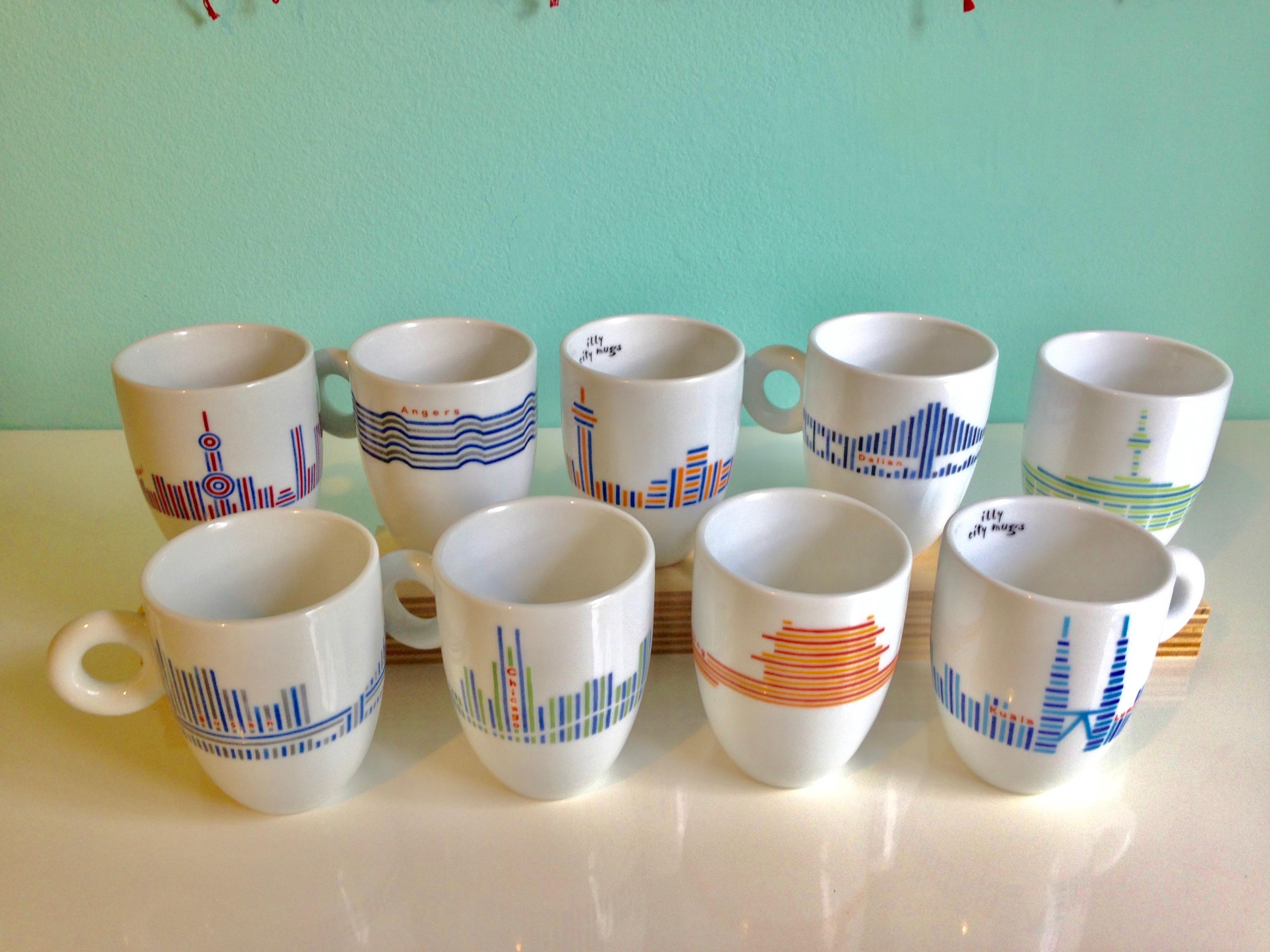 illy City Mugs