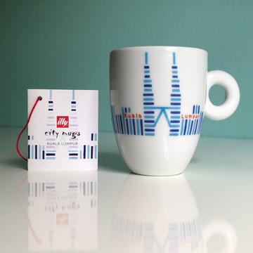 Kuala Lumpur - illy City Mug