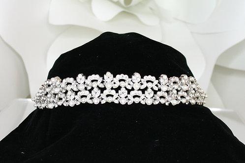 Floral Pearl Tiara