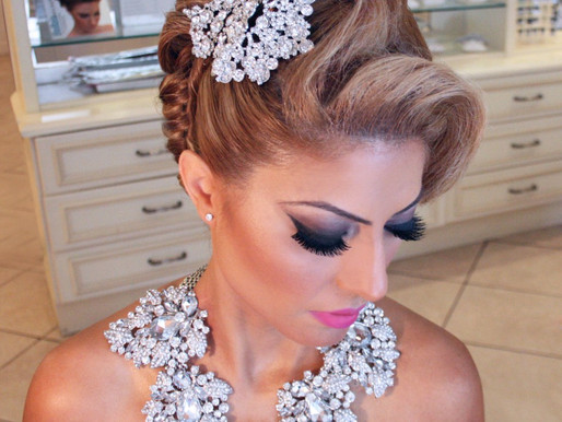 How To Create a Sexy Glam Updo