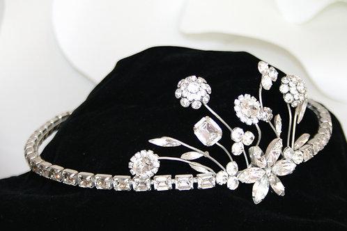 Floral Swarvoski Headband