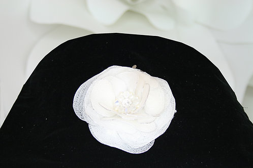 Gossamer Flower Clip