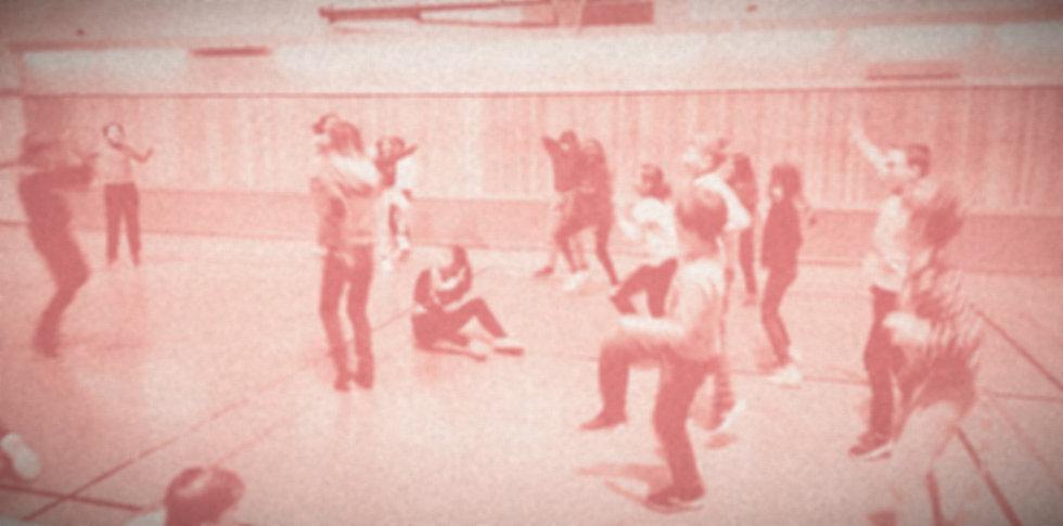Atelier de danse dans un établissement scolaire