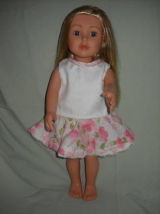 Floral Circle Skirt & Top