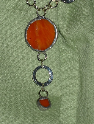 Sherbert Stained Glass Necklace