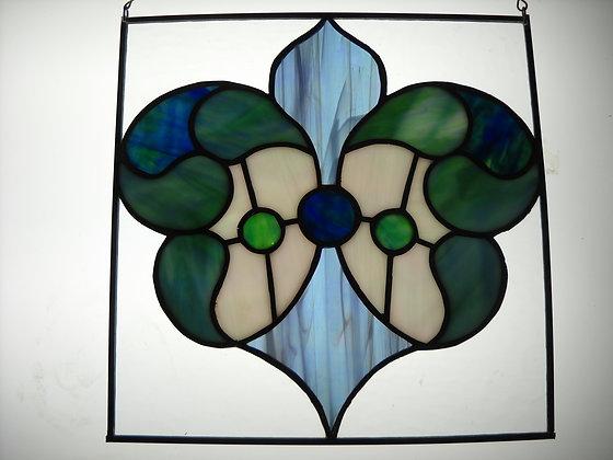 Blue & Green Manor Glass