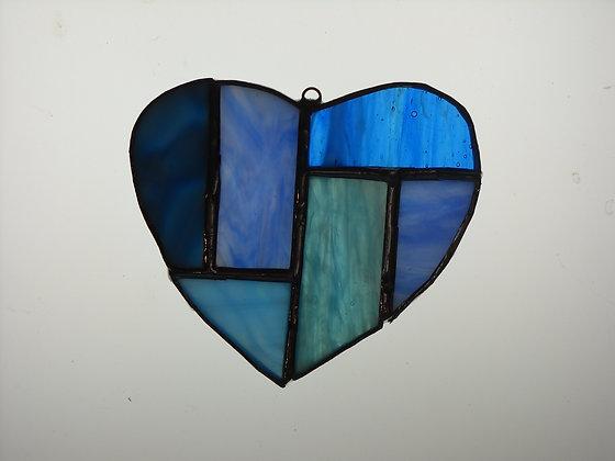 Blue Valentine Heart