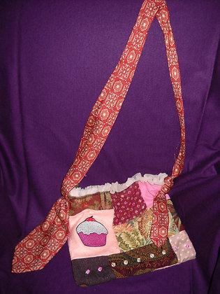 Beaded Cupcake Bag