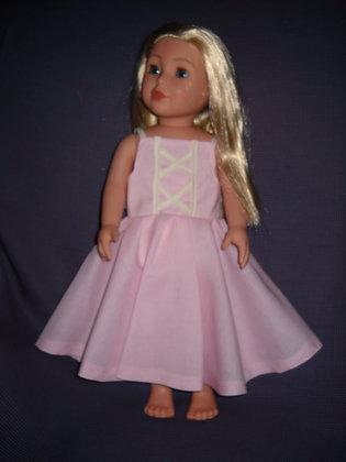 Flouncy Pink Dress
