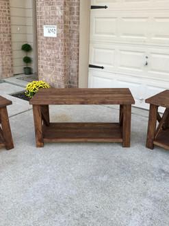 Matching Farmhouse Table Set