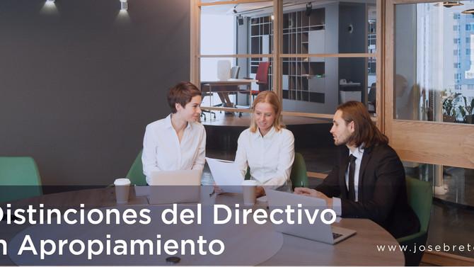 5 Distinciones para el Directivo con Apropiamiento