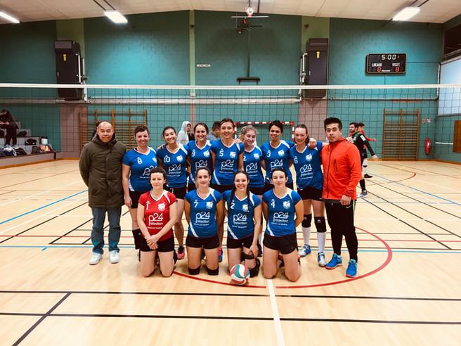 Equipe Pré-nationale F 2o19-2o2o