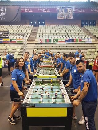 Mondiali di calcio balilla, i campioni campani convocati in nazionale italiana licb