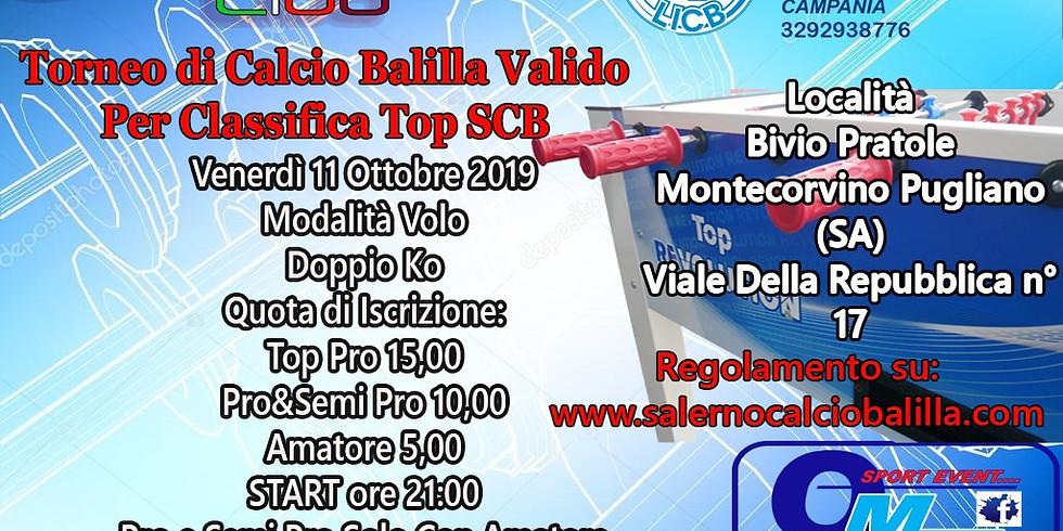 Gara calcio balilla valida per top scb 2019