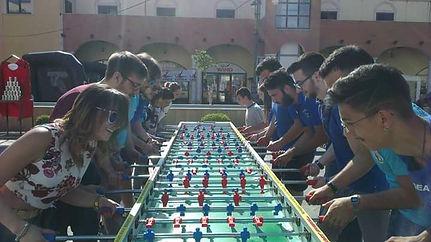 calcio balilla 11 vs 11