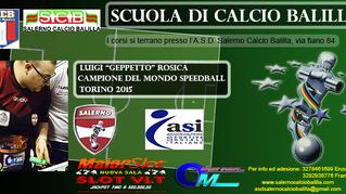 """A Nocera Inferiore nasce la """"Scuola di Calcio Balilla"""""""