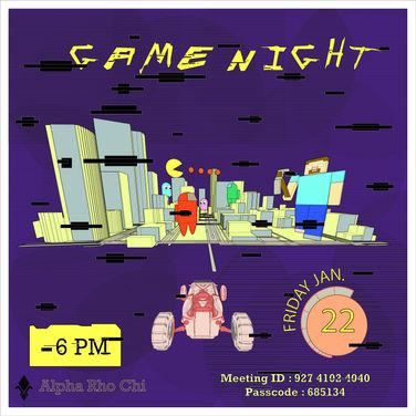 Game Night ! -- Fri 1/22
