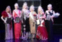 L-R Charlotte Ambrose, Rebecca Nunn, Joa