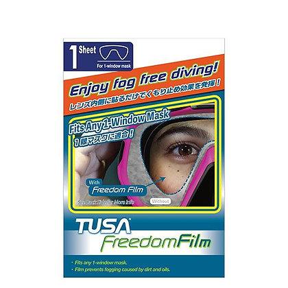 Film Antiempañante TA-0801 para máscaras de un cristal