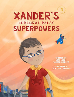 Front Cover - Xander's Cerebral Palsy Su