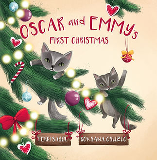 Oscar and Emmy's First Christmas - Front