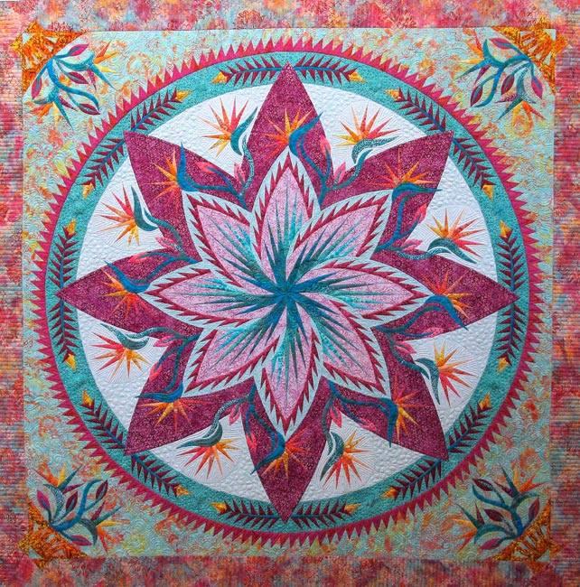 Paradise in Blooms made by CI Jackie Kunkel