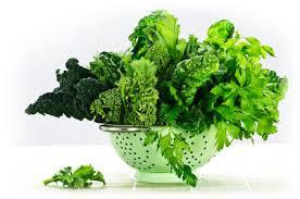 dark green leafy vegetables to reduce inflammation