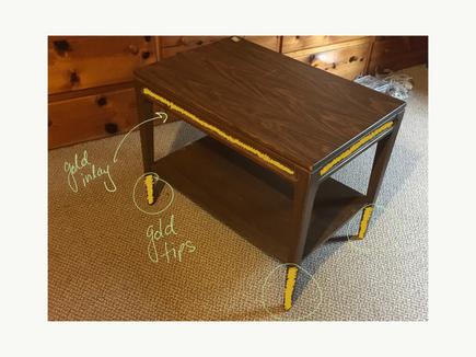Refinishing a Coffee Table