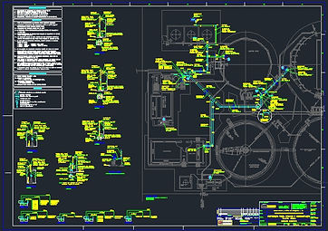 Projeto Elétrico Estação de Tratamento ETE