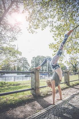 Lifestylefotografie Handstand
