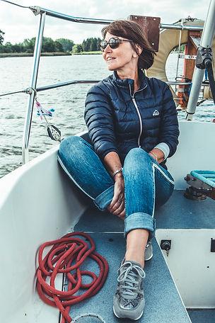 Entspannung beim Segeln