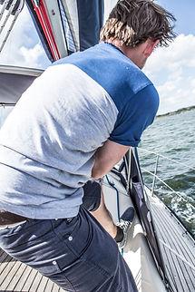 Lifestylefotografie beim Segeln