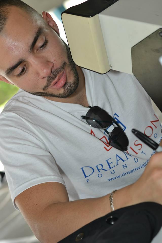 Carlos Izquierdo in Action!