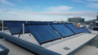 termotanque solar losa radiante