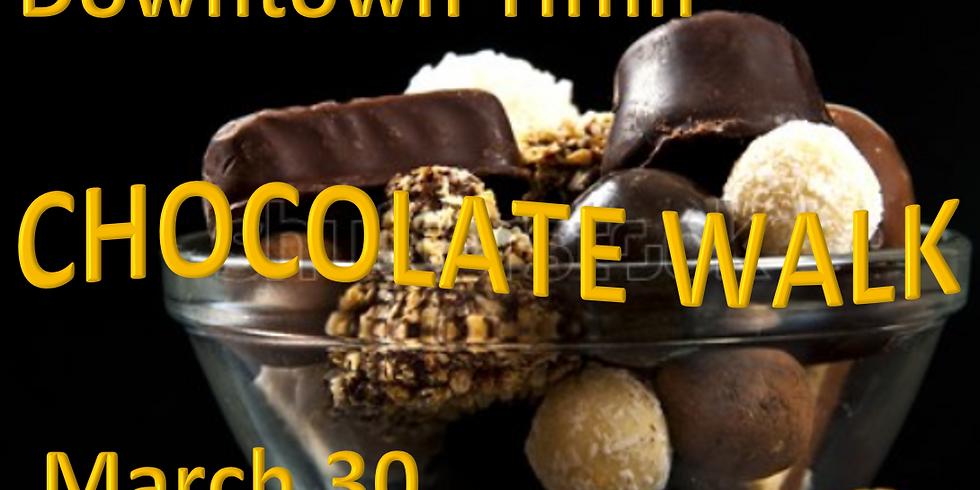 Downtown Tiffin Chocolate Walk