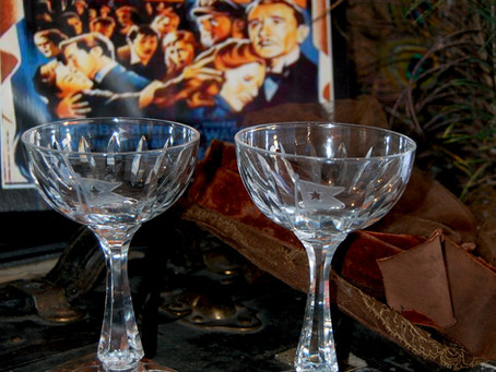 Hawkes' Master Cutter Honors Titanic's  Irish Connection with Goblet Giveaway