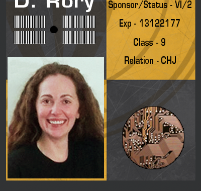 Rory's ID Badge