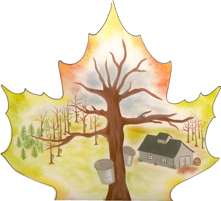 maple painting