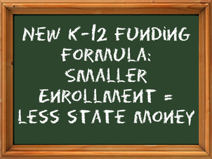 School districts represented by key votes would've gained under formula rewrite