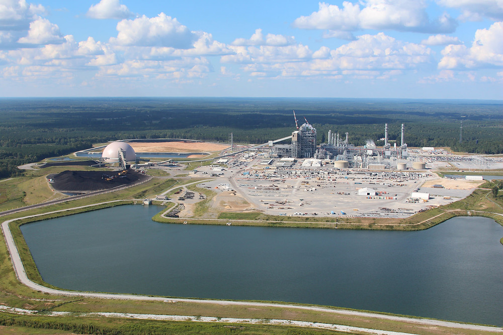 MASSIVE: The $7.5 billion Kemper Plant was originally supposed to be built in Florida. Photo by Mississippi Power