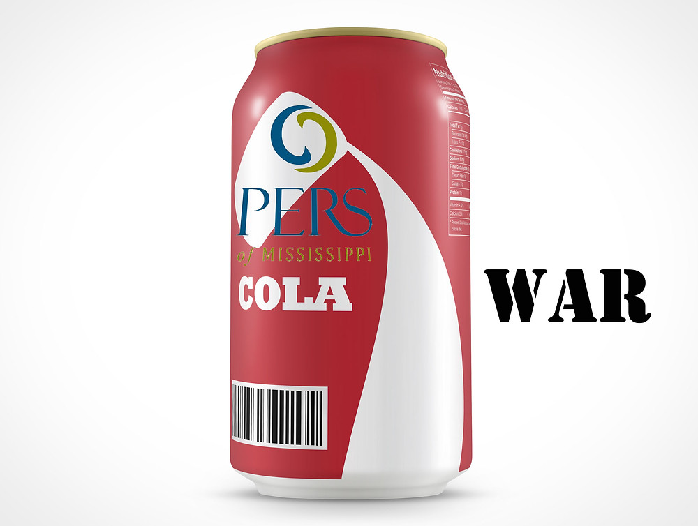 COLA WAR: A big political fight could be coming to the Mississippi Legislature this session over the so-called 13th check for PERS retirees. Photo illustration by Steve Wilson